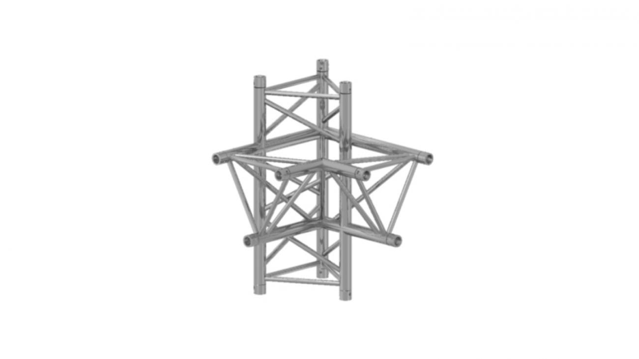 Prolyte Triangular 40 Series 4-way Corners **WSL