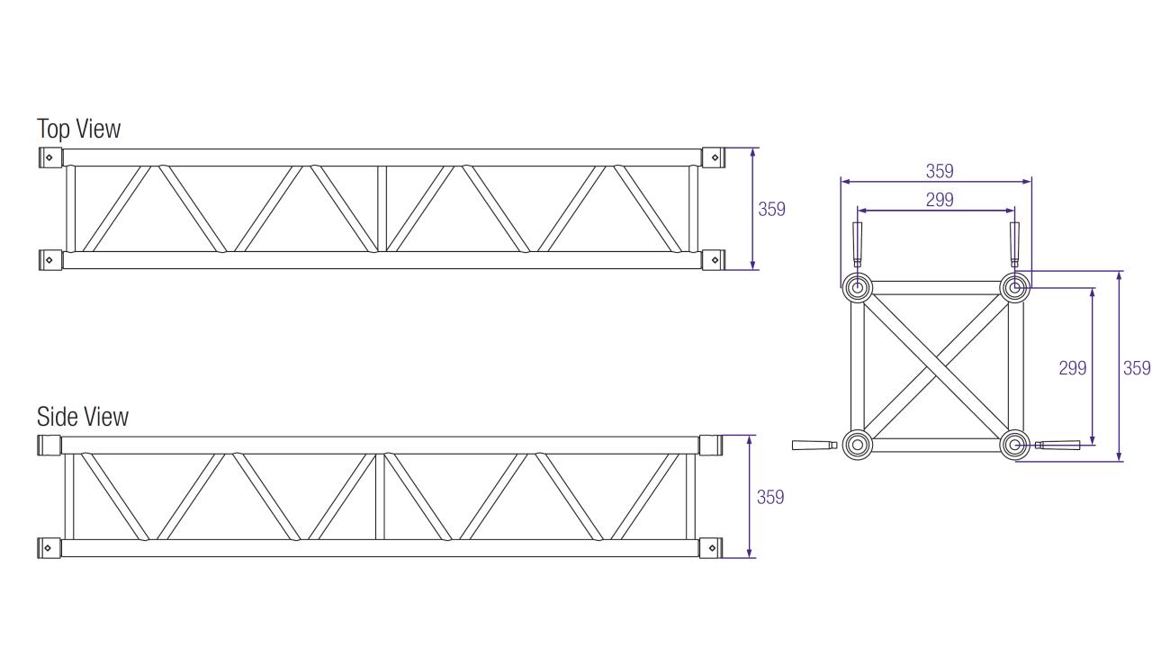 Aluminium Rectangular Section Sizes Box Section Square