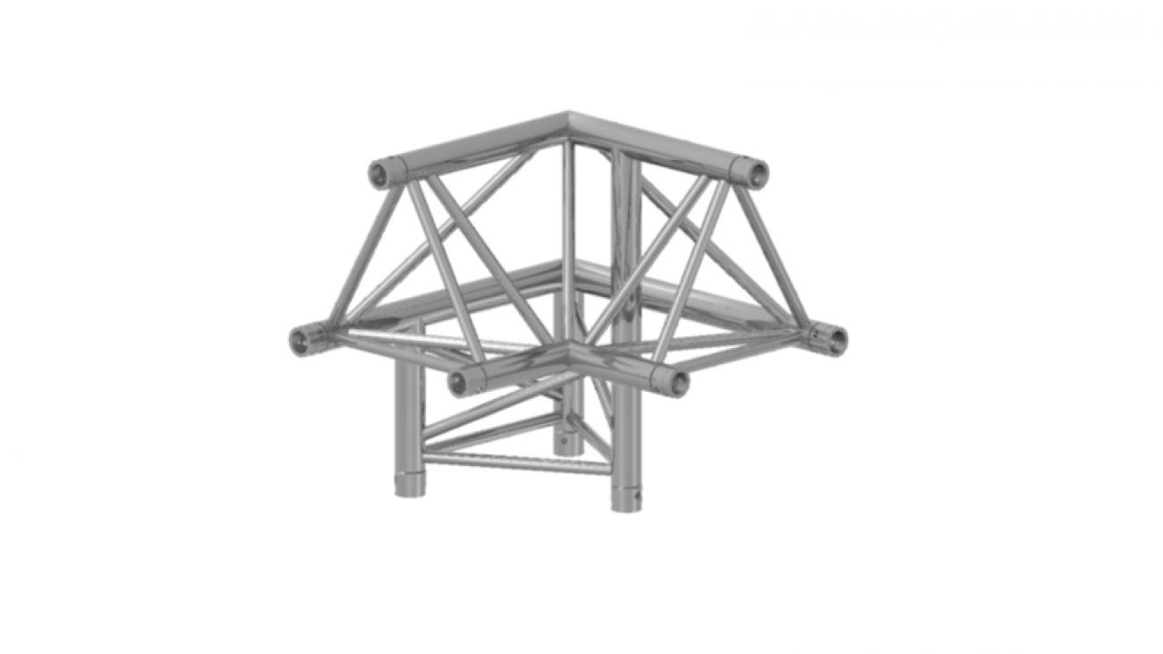 Prolyte Triangular 30 Series 3-Way Corners **WSL