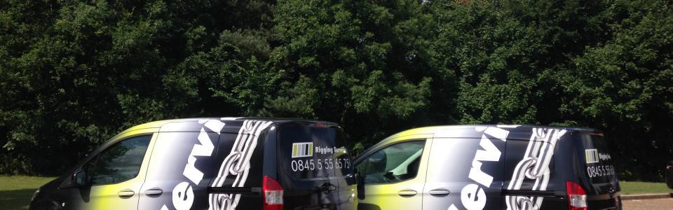 OnSite LOLER inspections mobile technician van .