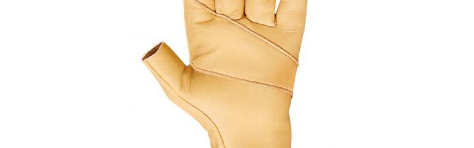 Beal Assure Fingerless Gloves, Palm