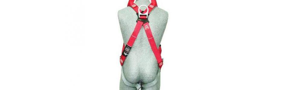 3M Protecta Pro Full Body Harness, Rear