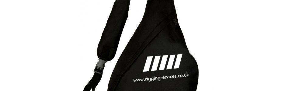 Merchandise Rigging Services Monostrap Bag 1