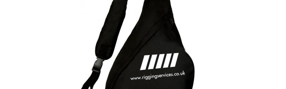 Merchandise Rigging Services Monostrap Bag 1