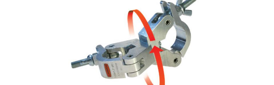 Doughty clamps Doughty Swivel Slimline Coupler 1