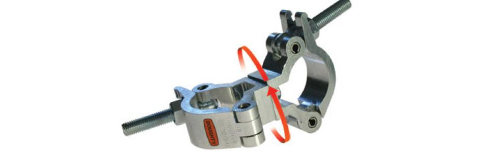 Doughty clamps Doughty Swivel Slimline Lightweight Coupler 1