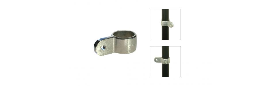 Speed Rail Modular Swivel Elbow/Tee, Single Male Section