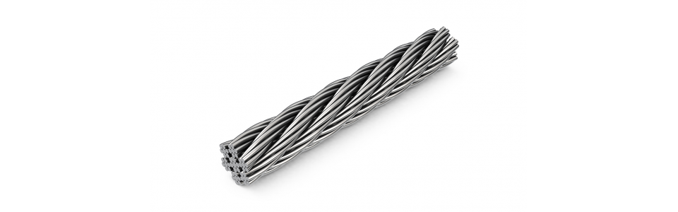 Wire rope Galvanised Wire Rope 8mm dia (price per metre) 1