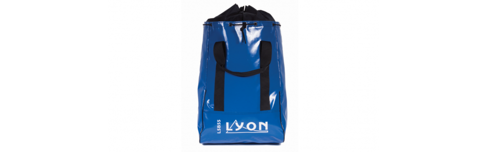 Lyon 55L/220m Industrial Access Sack, shown in blue