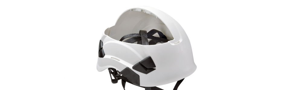 Petzl VERTEX helmet (showing interior webbing)