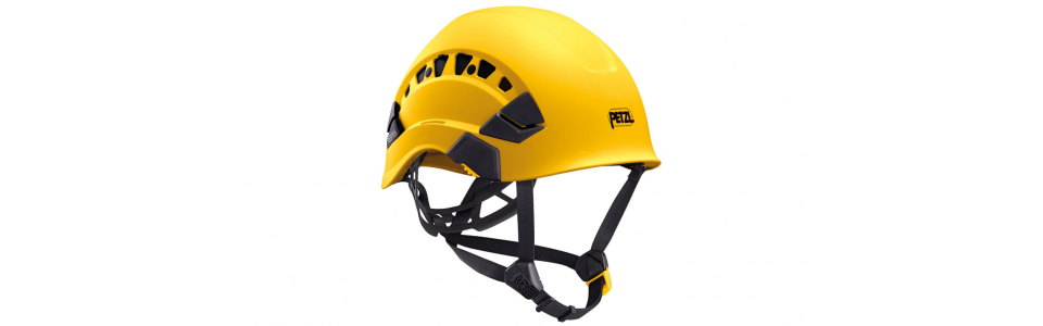 Petzl VERTEX VENT ventilated helmet, yellow