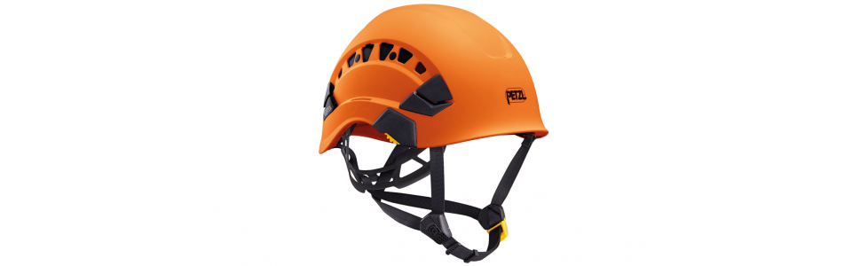 Petzl VERTEX VENT ventilated helmet, orange