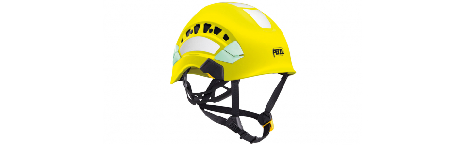 Petzl VERTEX VENT HI-VIZ ventilated high-visibility helmet, yellow