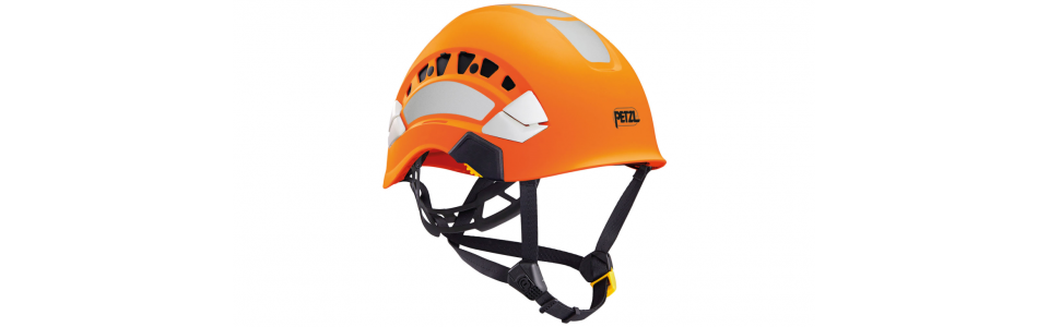 Petzl VERTEX VENT HI-VIZ ventilated high-visibility helmet, orange