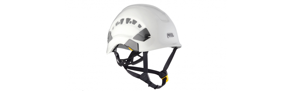 Protector shown installed on Petzl VERTEX helmet