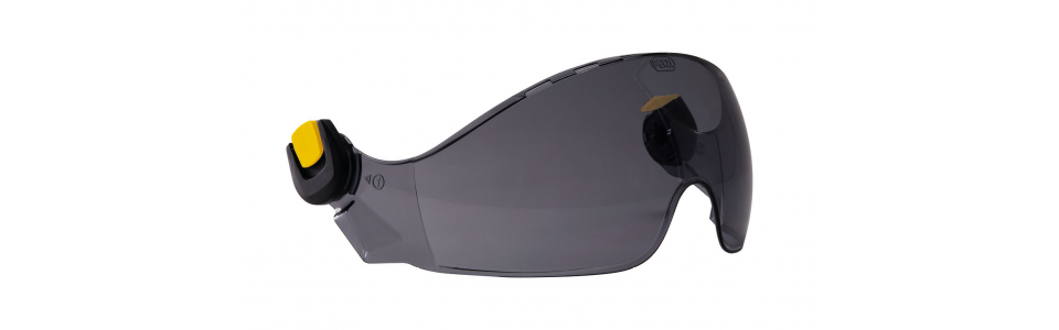 Petzl VIZIR SHADOW eye shield with EASYCLIP system for VERTEX and STRATO helmets
