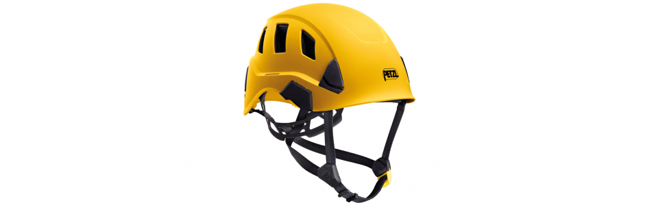 Petzl STRATO VENT Lightweight and ventilated helmet, yellow