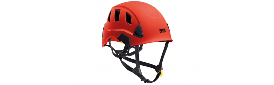 Petzl STRATO VENT Lightweight and ventilated helmet, red