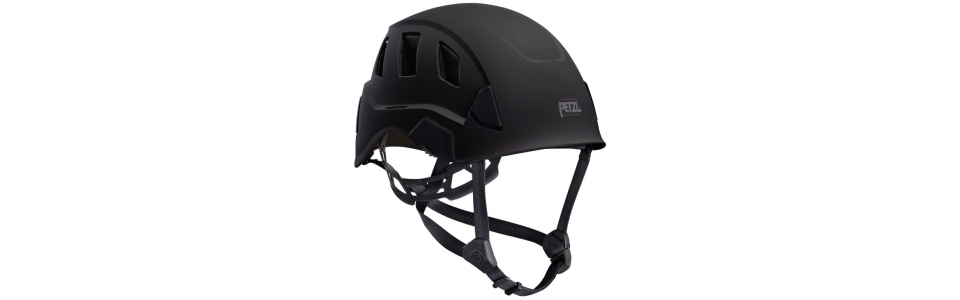 Petzl STRATO VENT Lightweight and ventilated helmet, black