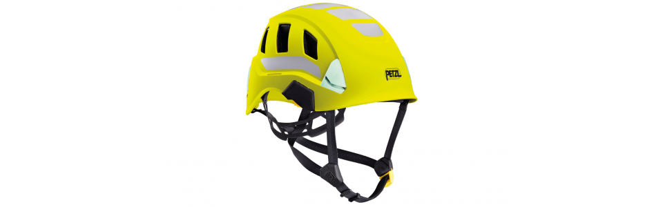 Petzl STRATO VENT Lightweight and ventilated helmet, hi-viz yellow