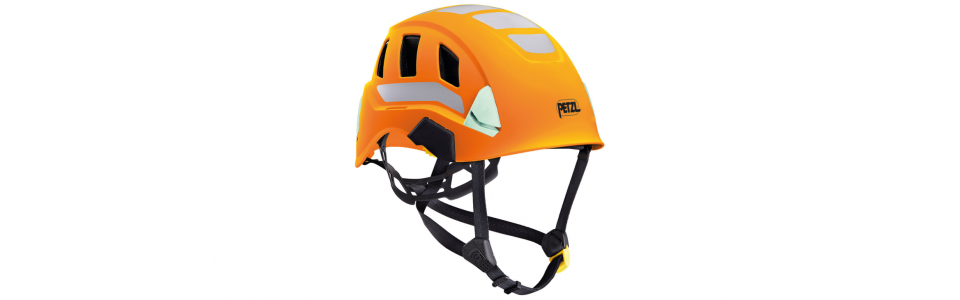 Petzl STRATO VENT Lightweight and ventilated helmet, hi-viz orange