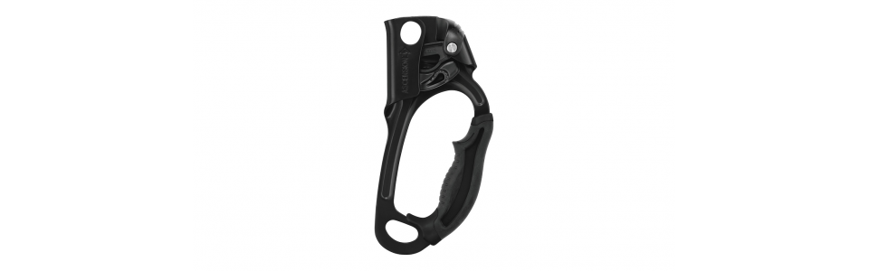 Petzl B17ARN - ASCENSION Handled Ascender, Black (Right Handed)