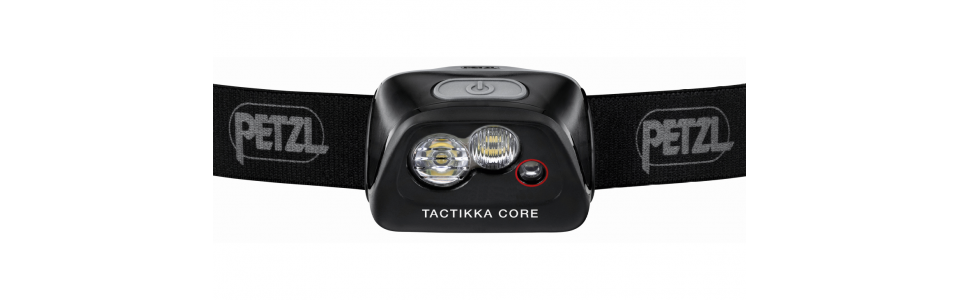 Petzl TACTIKKA CORE headtorch (front)