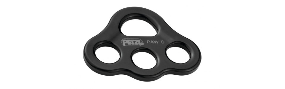 Petzl PAW Small Rigging Plate, Black