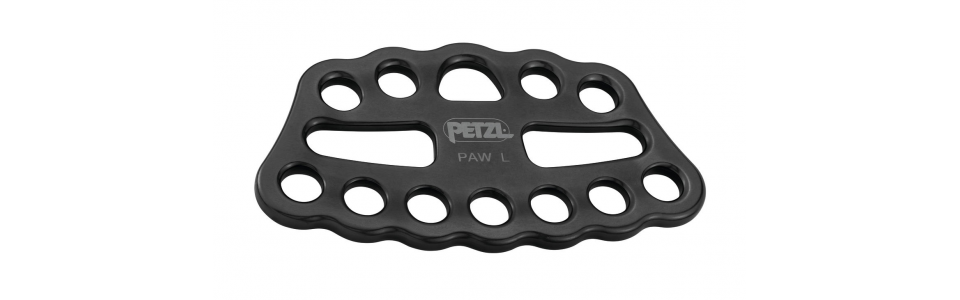 Petzl PAW Large Rigging Plate, Black