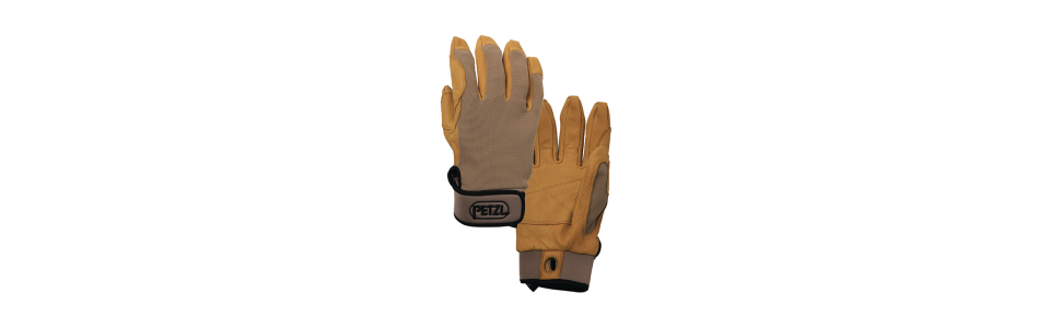 Petzl CORDEX Belay Gloves, Beige