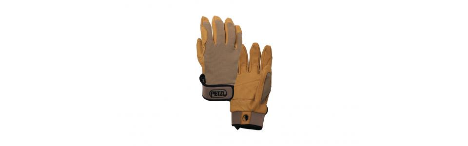 Petzl CORDEX Belay/Rappel Gloves, Beige