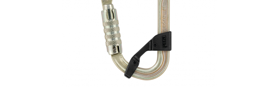 Petzl VULCAN showing CAPTIV positioning bar