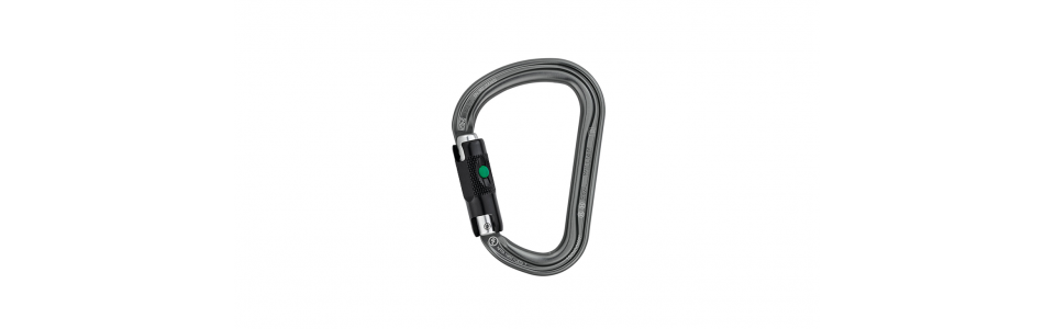 Petzl WILLIAM Ball-lock Alloy Karabiner