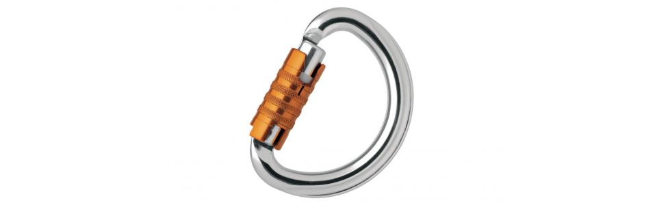 Petzl OMNI Triact-lock Alloy Karabiner