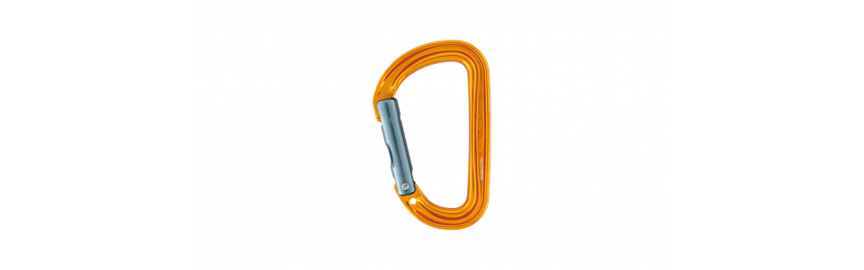 Petzl Sm'D Alloy Karabiner, Yellow