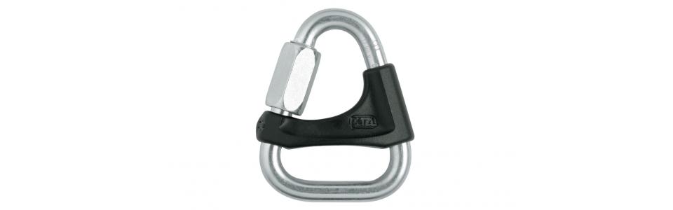 Petzl DELTA Triangular PPE Connector