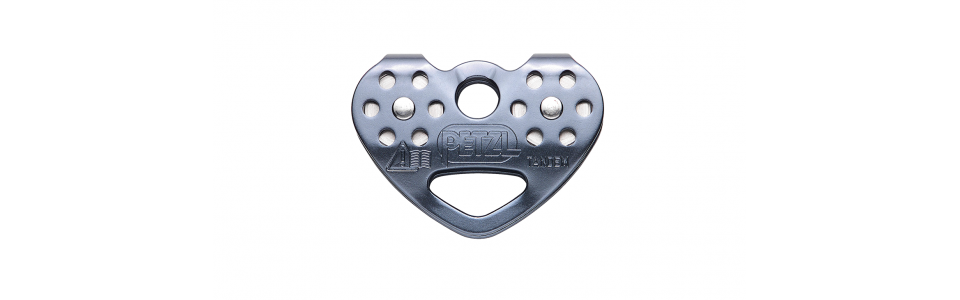 Petzl TANDEM SPEED In-line Double Pulley