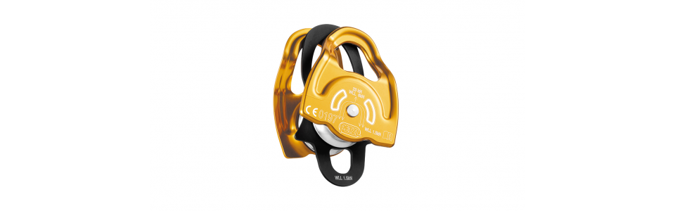 Fibre rope Petzl P66A - GEMINI Double Prusik Pulley 1