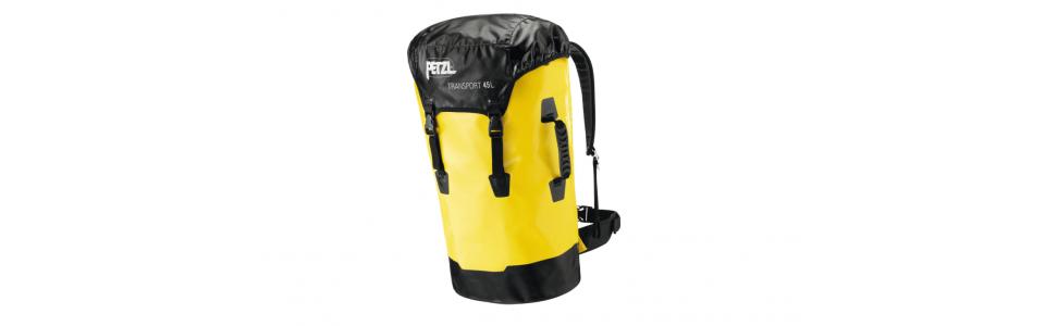 Petzl TRANSPORT 45 litre sack, front view
