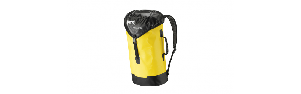 Petzl PORTAGE 30 litre tackle sack, front view