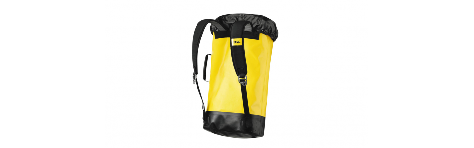 Petzl PORTAGE 30 litre tackle sack, rear view