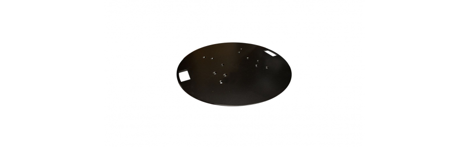 Prolyte 30/40 Series Truss Round Baseplate (Powder Coated Black)