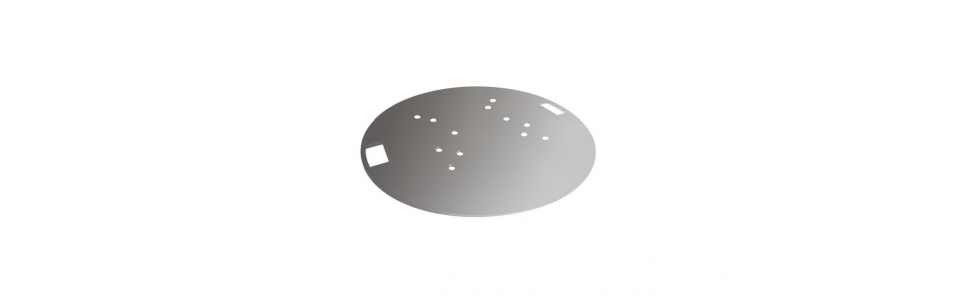 Prolyte 30/40 Series Truss Round Baseplate (Galvanised)