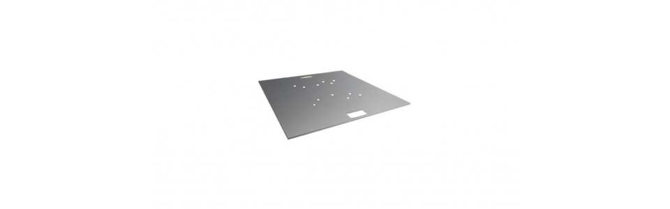 Prolyte 30/40 Series Truss Square Baseplate (Galvanised)