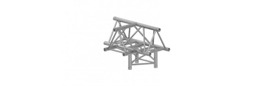 Prolyte Triangular 30 Series 4-way Corner, T-joint (Apex Up)