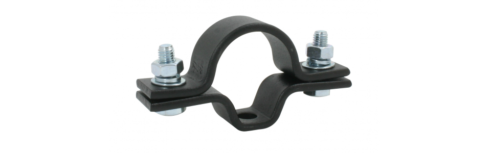 Doughty Universal Suspension Clamp, Black