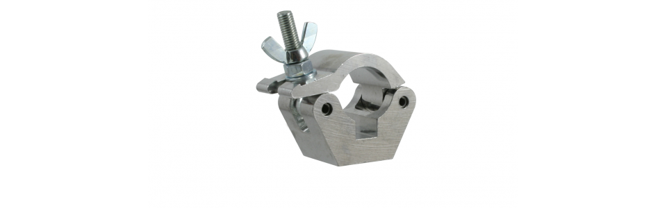 Doughty Half Coupler Clamp, Self-colour