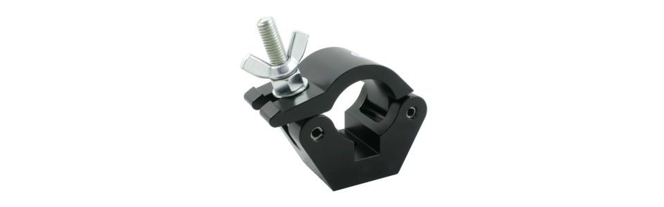 Doughty Half Coupler Clamp, Powder Coated Black