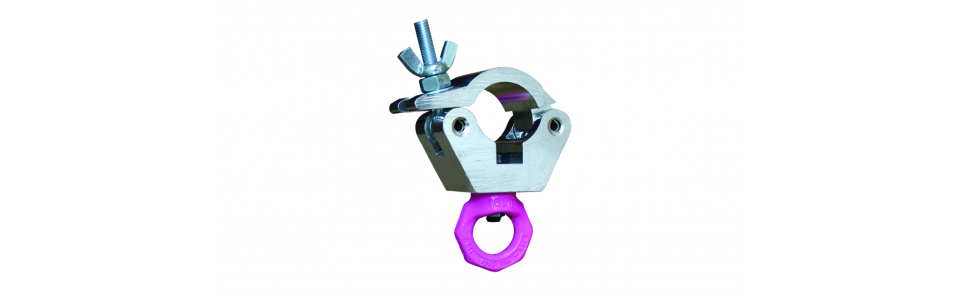 Doughty Half Coupler Hanging Clamp, Self-colour 750kg