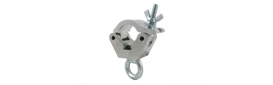 Doughty Half Coupler Hanging Clamp, Self-colour 340kg